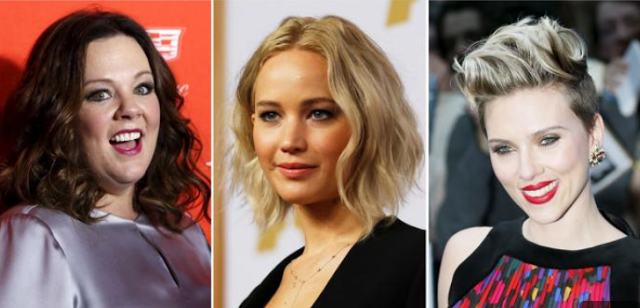 Jennifer Lawrence tops Forbes World's Highest-Paid Actresses 2016