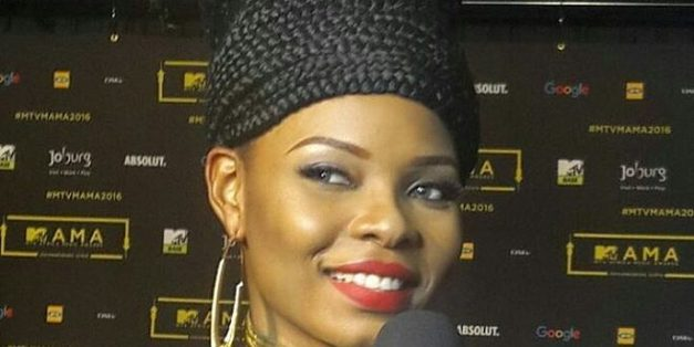 Yemi Alade's Hairstyle To MTV Africa Music Awards 2016 (See Photos)